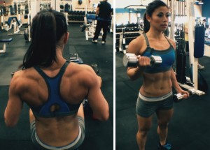 ting wang back biceps superset