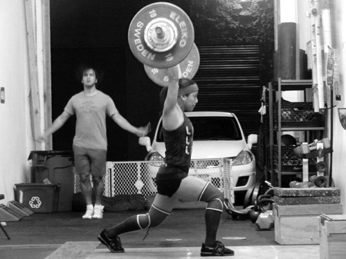 ting wang clean and jerk waxmans gym
