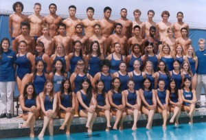 ting wang high school varsity swim team
