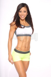 fitness model ting wang (tingfit) in a standing pose 3
