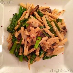 sauted bamboo shoot recipe with veggies
