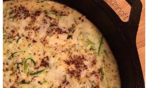 zucchini frittata with mozzarella cheese recipe