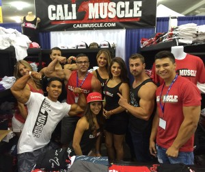 Cali Muscle booth