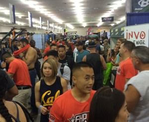 FitExpo ticket holder crowd