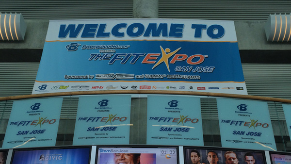 FitExpo welcome sign