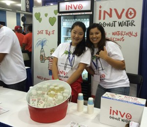 invo coconut water booth