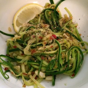 Easy zucchini noodles zoodles recipe