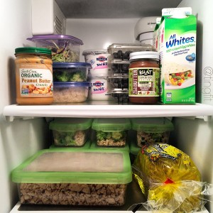 Post meal prep fridge