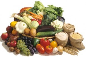 carbohydrates - fruit, vegetables, grains